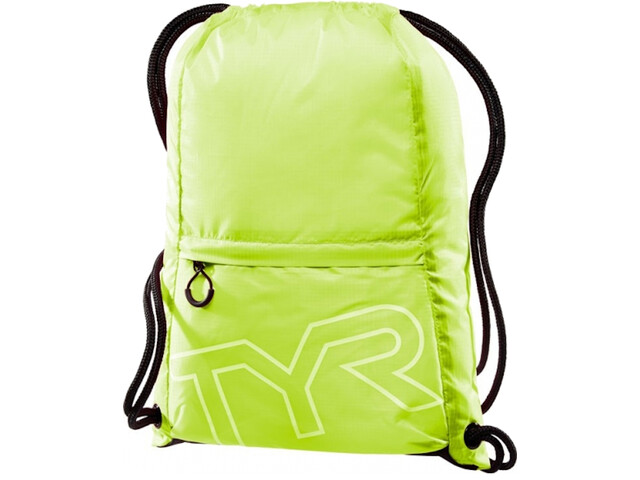 TYR Draw String Backpack, amarillo